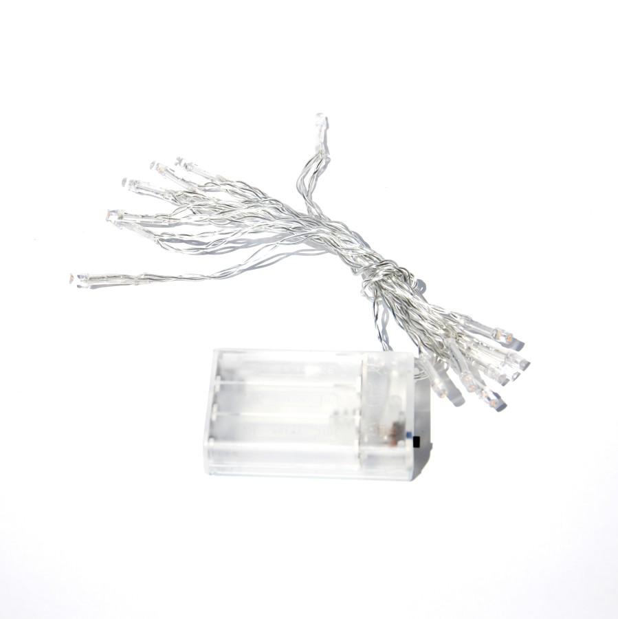 Girlianda LED ledams (veikianti baterijomis)